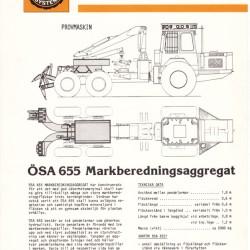ÖSA 655 Markberedningsaggregat