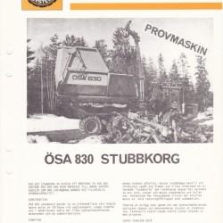 ÖSA 830 Stubbkorg
